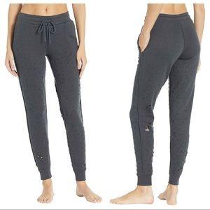 ALO Yoga Distressed Lounge Sweatpants Joggers S, M